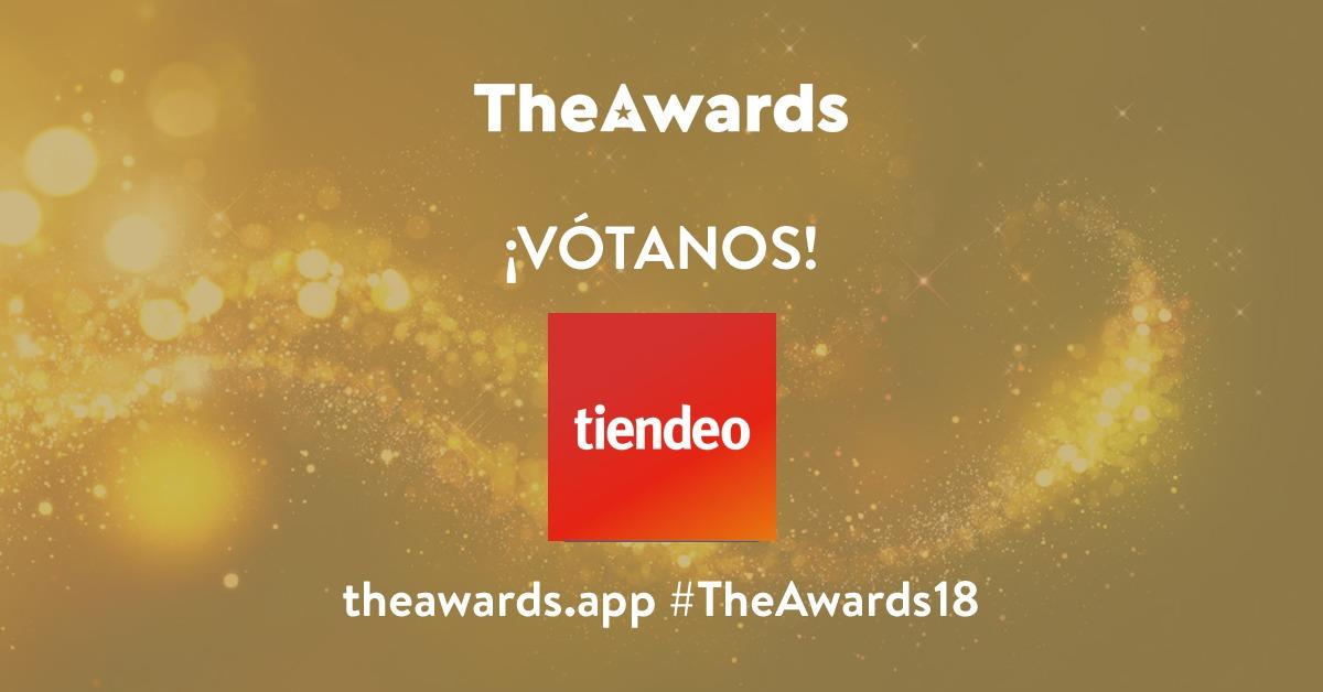 Vote Tiendeo TheAwards