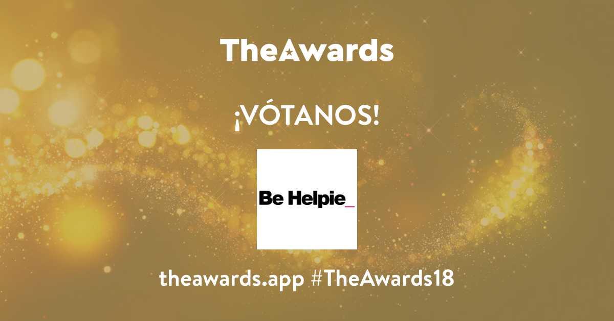 Vota Be Helpie TheAwards